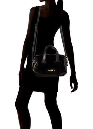 Puma women's prime premium handbag bag, black, osfa