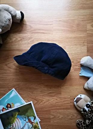 Детская крутая вельветовая брендовая кепка gap для девочки - возраст 6-8 лет