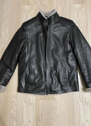 Куртка дубленка кожа натуральный мех