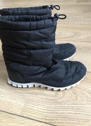 Зимние сапоги кроссовки reebok realflex