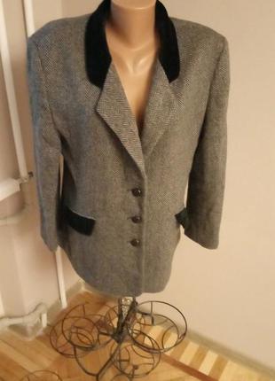 Твидовый пиджак  в классическом английском стиле debenhams англия