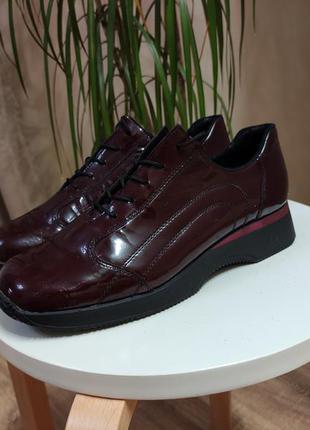 Туфли, ботинки riker лаковая кожа