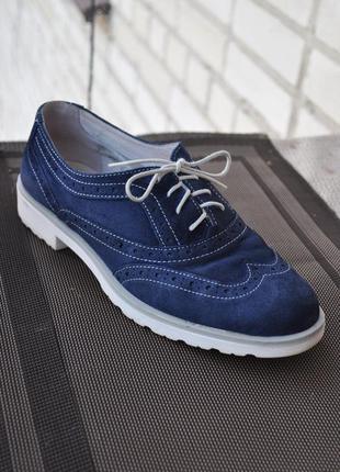 Кожаные туфли от roberto santi
