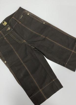 Шорты бриджи cappopera couture jeans xs s