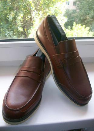 Туфли мужские натуральная кожа lands'end р.42