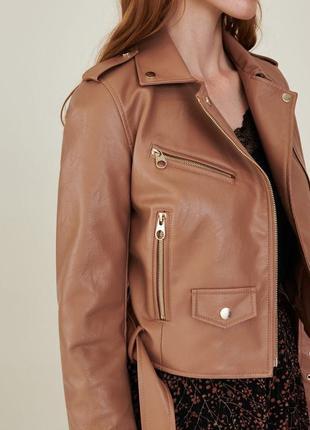 Куртка эко кожа  осеняя женская