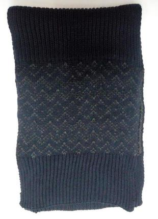 Теплый классный шарф