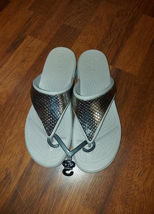 Шлепки crocs w9-39/40-25cm