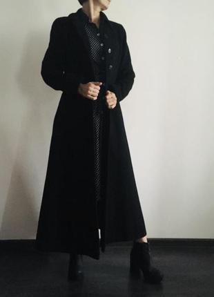 Роскошное пальто шерсть от laura ashley