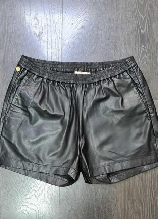 Кожаные шорты benedikte utzon размер м оригинал