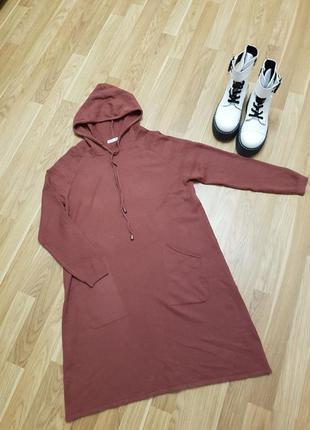 Платье машинной вязки