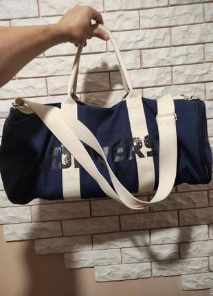Converse оригинал сумка синяя спортивная / дорожная через плечо