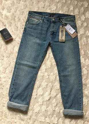 Новые джинсы бойфренды на бёдра 100+