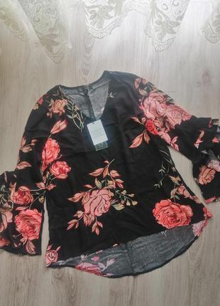 Блуза туніка рубашка, нова з біркою 💜