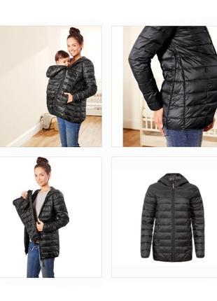 Куртка деми, куртка для беременных, слингокуртка, euro 44, esmara германия