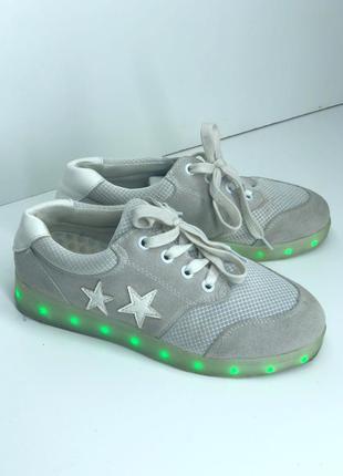 Светящие  кроссовки