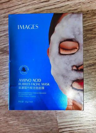 Маска для обличчя images amino acid bubbles facial mask