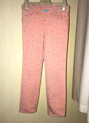 Теплі штани на флісі на вік 6-7 років.