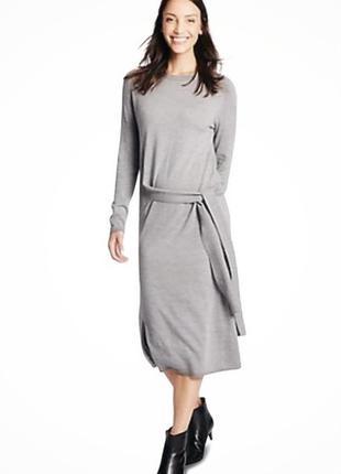 Плаття з шерсті меріноса , плаття midi, marks&spenser,розмір м❤️