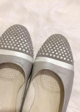 Нові.балетки туфлі шкіра бренду gabor comfort оригінал  7 g 40 g