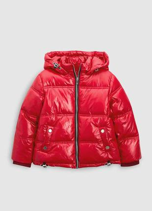 Непромокаемая теплая куртка next, указано 3 года