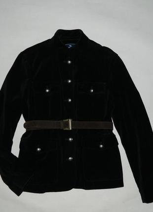 Роскошный бархатный пиджак на осень