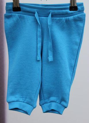 Синие штанишки на байке h&m