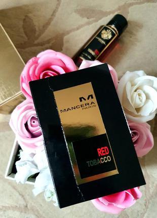 Mancera red tobacco пробник/ мансера/ духи/ парфюмированная вода