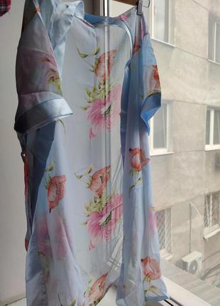 Женский гипюровый халат
