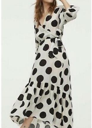 Платье в горох от h&m