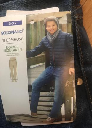 Термо джинсы на хлопковой подкладке,pocoplano,termonose