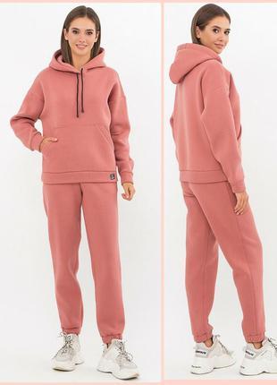 Утеплённый прогулочный костюм (7 расцветок)* отличное качество