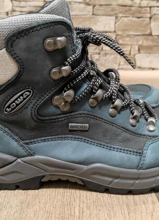 Трекинговые термо ботинки lowa gore tex дит