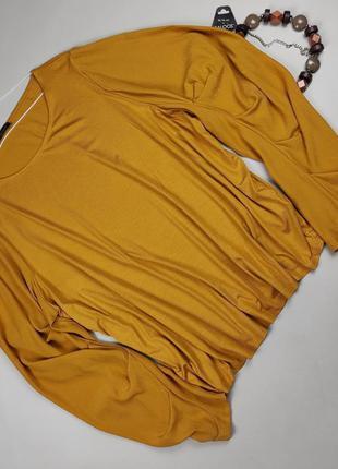 Блуза кофточка стильная большого размера marks&spenсer uk 24/52/5xl