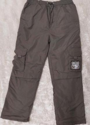 Стильні  демісезонні підросткові штани