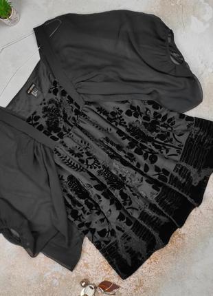 Блуза красивая оригинальная люксовая h&m uk 8/36/xs