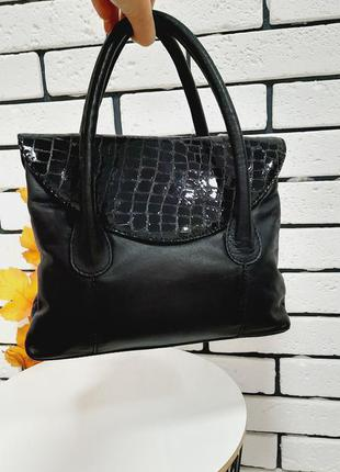 Стильная кожаная сумка kinsey