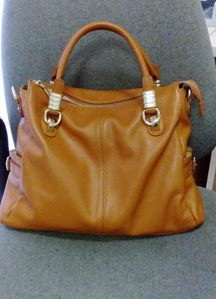 Шикарнейшая кожаная сумка