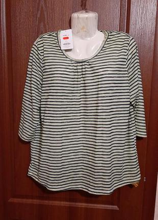 Блузка в полосочку размера 50 -52.