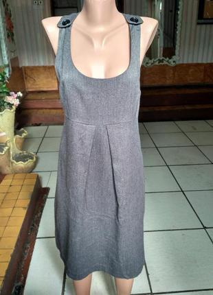 Сарафан, платье под блузку, можно для беременных