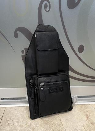 Hill burry сумка чоловіча шкіряна сумка чоловіча через плече