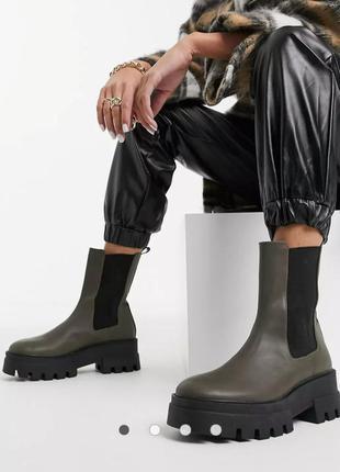 Массивные ботинки pull&bear