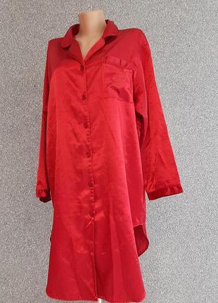 💙💖💜 мягкое платье рубашка из атласа