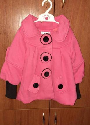 Пальто дитяче на 2-3 роки