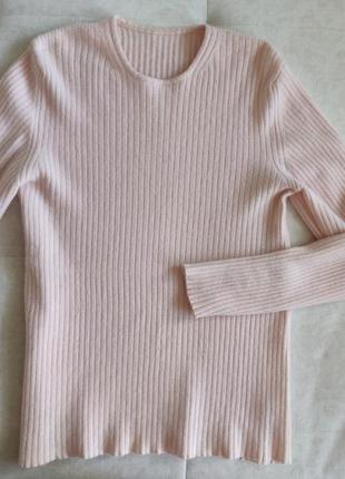 Кашемировый полувер джемпер свитер