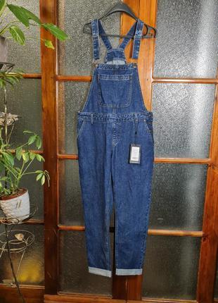 Новый, джинсовый комбенизон  рр м