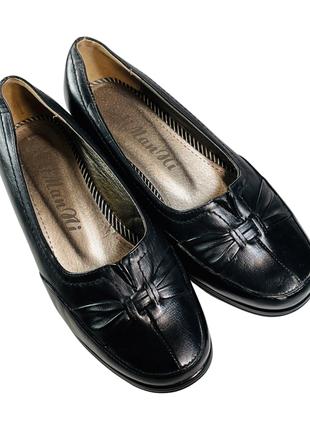 Женские кожаные туфли, 36