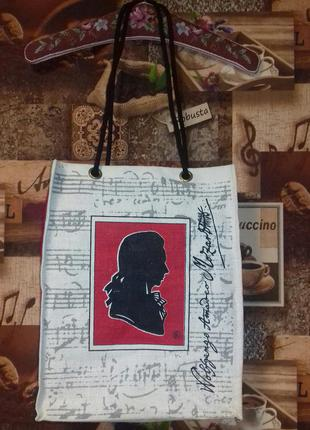 Сумка шопер bags wolfgang amadeo mozart 41×34×12