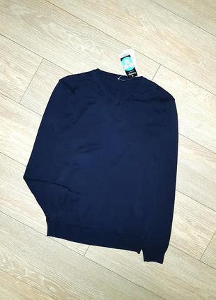 Темно-синий джемпер на 15-16 лет