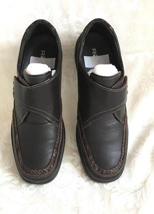Кожаные туфли нат . кожа